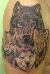 wolf-family-s